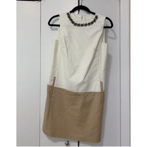Zara Shift Style Colorblock Dress
